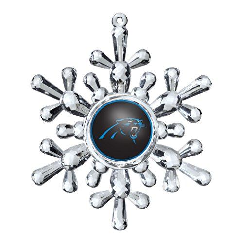 NFL Carolina Panthers Snowflake