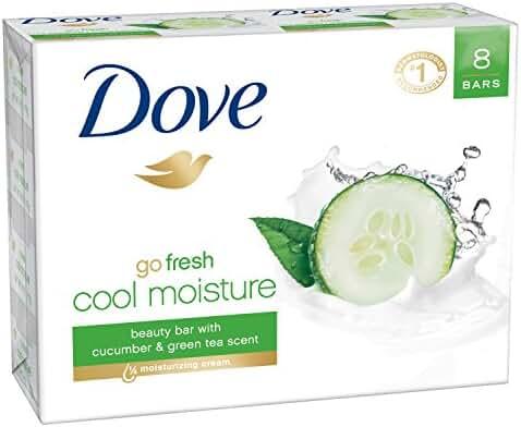 Dove go fresh Beauty Bar, Cool Moisture 4 oz, 8 bar