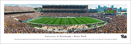 Pitt Panthers Football Photo (Pittsburgh Panthers Football - 50 Yard  - Blakeway Panoramas Unframed College Sports Posters)