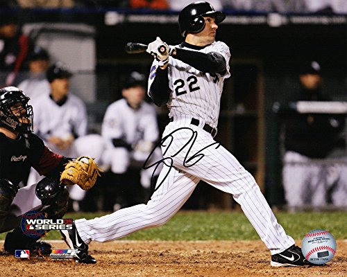 Scott Podsednik Autographed/Signed Chicago White Sox 2005 World Series Game 2 Walk-Off HR 8x10 Photograph - Authentic ()