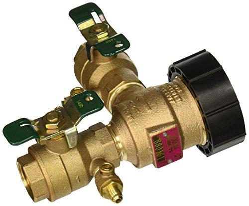 (Watts 0388002 Pressure Vacuum Breaker W/QT Ball Valve, 1