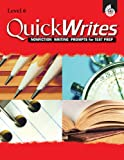Quick Writes, Level 6, Sarah Kartchner Clark and Diana Herweck, 1425803164