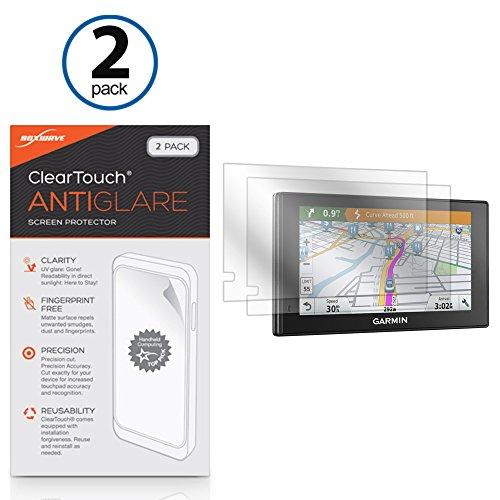 Garmin DriveSmart 70LMT Screen Protector, BoxWave® [ClearTouch Anti-Glare (2-Pack)] Anti-Fingerprint Matte Film Skin for Garmin Nuvi 2789LMT | DriveSmart 70LMT
