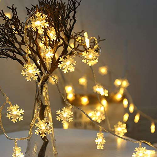 Outdoor Snowflake Light String in US - 7