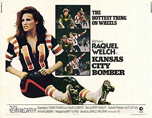 Kansas Metropolis Bomber POSTER Movie (1972) Style A 11 x 14 Inches - 28cm x 36cm (Raquel Welch)(Kevin McCarthy)(Helena Kallianiotes)(Norman Alden)(Jeanne Cooper)(Richard Lane)(Jodie Care for)