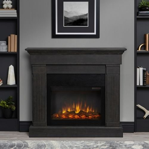 crawford electric fireplace - 2