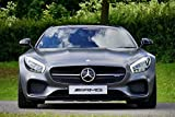 LAMINATED 36x24 Poster: Mercedes-Benz Car Amg Gt Transport Mercedes Benz Auto Motor Automobile Automotive Limited Edition Luxury Modern Vehicle Design Technology Speed Fast Badge Style