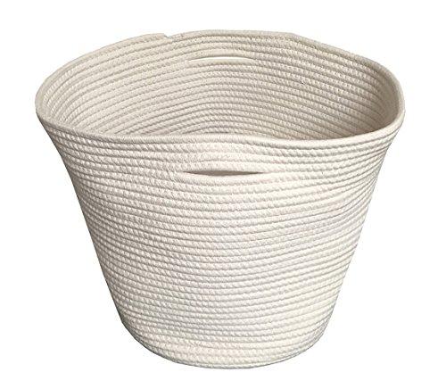 WHITECLOUD Organic Cotton Rope Basket | 15