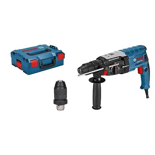 Bosch Professional GBH 2-28 (F) - Martillo perforador, 3.2 J, 2X Portabrocas Sds-Plus (ref. 0611267601)