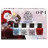 OPI Nail Lacquer - 2016 Alice Through The Looking Glass Collection - Mini 4pk - 0.125oz / 3.75ml Each