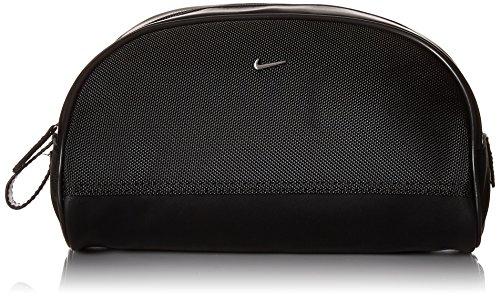Men's Nike Golf Dopp Kit Travel Toiletry Bag, Black/Silver 001 Nike Golf