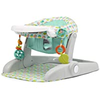 Summer Learn-to-Sit Stages 3-Position Floor Seat, Includes Toys and Tray, Neutral