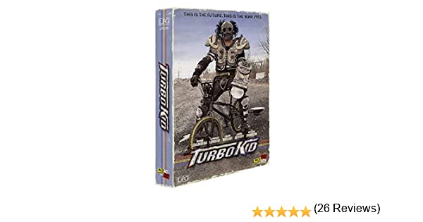 Turbo Kid - VHS RETRO-Edition Bluray + DVD + Bonus-DVD + Doppel Soundtrack-CD Limitiert / Nummeriert auf 500 Stück Cover B Alemania Blu-ray: Amazon.es: ...
