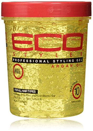(ECOCO Styling Gel With Argan Oil, 32 oz, Pack Of 2)