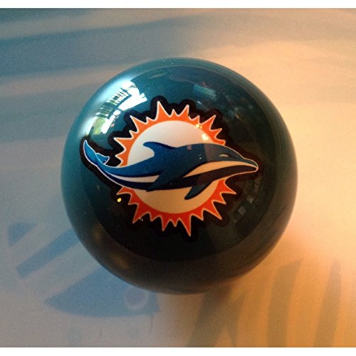Miami Dolphins Billiard Pool Cue 8 Ball