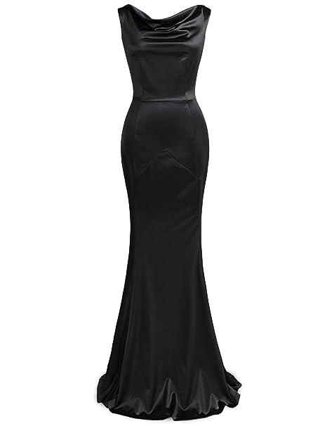 Amazon Muxxn Womens 30s Brief Elegant Mermaid Evening Dress