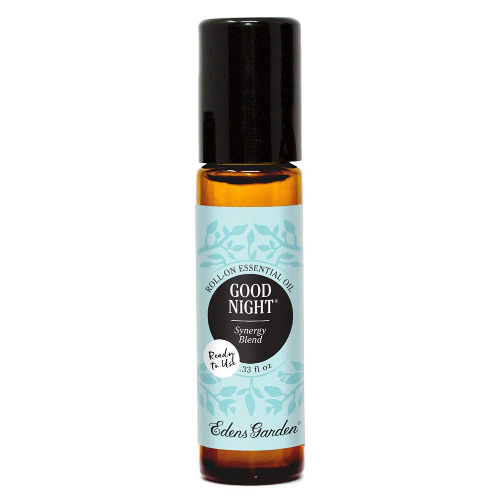 Edens Garden Good Night Essential Oil Synergy Blend, 100% Pure Therapeutic Grade (Pre-Diluted & Ready To Use- Anxiety & Sleep) 10 ml Roll-On