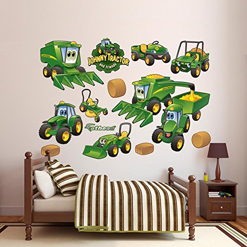Fathead John Deere Johnny Tractor Farming Collection Wall...