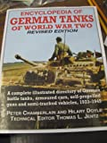 Encyclopedia of German Tanks of World War Two, Peter Chamberlain and Hilary Doyle, 1854092146