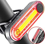 Cycle Torch Fire Stick USB Rechargeable Bike Tail Light, RED Rear Bicycle Light, Super-Bright LED Tailllight, Universal Compatibility, Easy to Mount