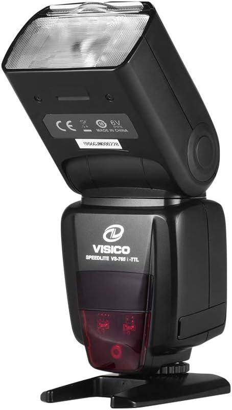 كاميرا فلاش Speedlite TTL Speedlight مدمجة 2.4 جيجا هرتز نظام 1/8000s مزامنة عالية السرعة مع شاشة LCD حذاء ساخن لنيكون D5600 D5500 D5300 D3500 D7000 D7100 D7200 D800 D850 D600 D60
