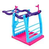 #8: Fingerling Interactive Baby Monkey Pet Toy Climbing Playset Frame Climbing Stand Seesaw Swing Set(Monkey is not included)