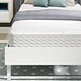 Signature Sleep 5426096 Contour Encased Mattress, Twin, White
