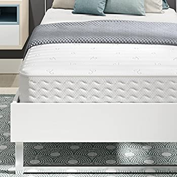 signature sleep contour 8 inch reversible encased coil mattress with certipurus certified foam