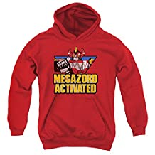 Mighty Morphin Power Rangers Megazord Activated Big Boys Pullover Hoodie