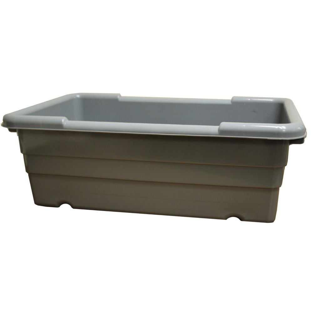 Prolon B1528 25 x 15-1/2 x 8-3/4 Plastic Super Tote Container by Prolon