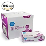 MedPride Powder-Free Nitrile Exam Gloves, Medium, Case/1000 (10 Boxes of 100)