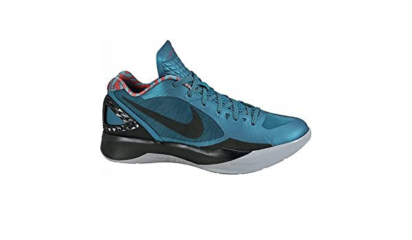 newest db072 8d509 Amazon.com   Nike Men s Zoom Hyperdunk 2011 Low 487638 302 Teal Black  Chilling Red Wolf Grey (Men s 12, Teal Black Chilling Red Wolf Grey)   Shoes