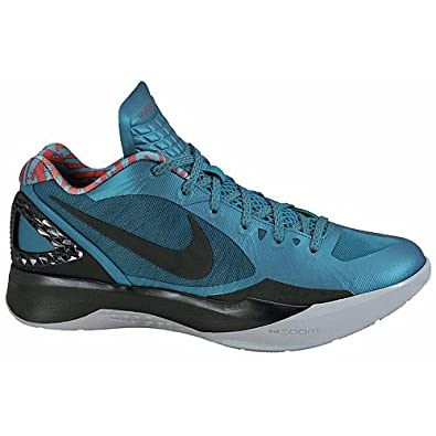 premium selection cc5a7 a4d92 Image Unavailable. Image not available for. Color  Nike Men s Zoom  Hyperdunk 2011 Low 487638 302 Teal Black Chilling Red Wolf ...