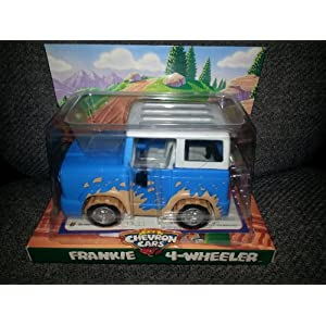 Chevron Cars Frankie 4-Wheeler with Removable Roof, 2 Piece Set