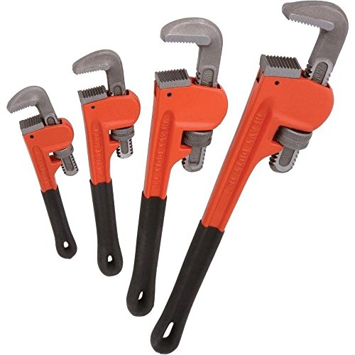 Socket Wrenchesc4pc Heavy Duty Pipe Wrench Set Monkey Heat Treated Adjustable 8