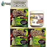 1 Arnica Reforzada con OrtigaAjoRey y 3 cajas de OrtigaAjoRey with Omega 3, 5 and