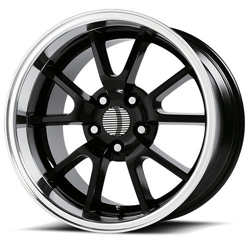(OE Performance 118B 18x9 5x114.3 +30mm Gloss Black Wheel Rim)