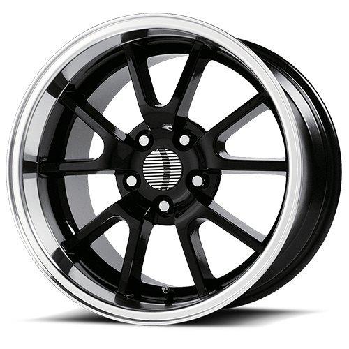 OE Performance 118B 18x9 5x114.3 +30mm Gloss Black Wheel Rim