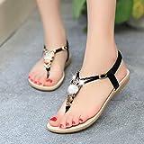 Han Shi Fashion Sandals, Women Rhinestone Clip Toe