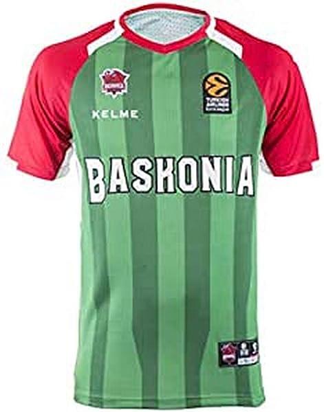 L Verde Baskonia 2/º Equipacion Camiseta Adultos Unisex