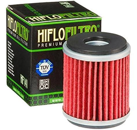 Filtro de aceite Hiflo para Scooter Yamaha 125 Xmax 2006-2013 HF141 / 5TA-13440-00: Amazon.es: Coche y moto