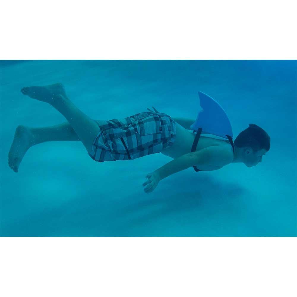 Fin Fun - Aleta de tiburón - para Nadar y disfrazarse: Amazon.es: Juguetes y juegos