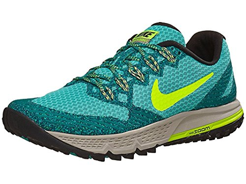 Zapatillas De Running Nike Air Zoom Wildhorse 3 Para Mujer, Color Verde Azulado / Volt / Rio Teal / Lt Iron Ore