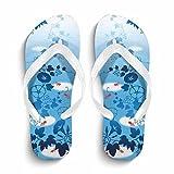 Eric Carl Women's Stylish Beach Casual Flip Flops Anti-Slip Slippers