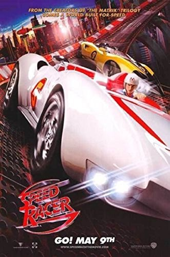 Speed Racer 2008 S/S Movie Poster 11.5x17