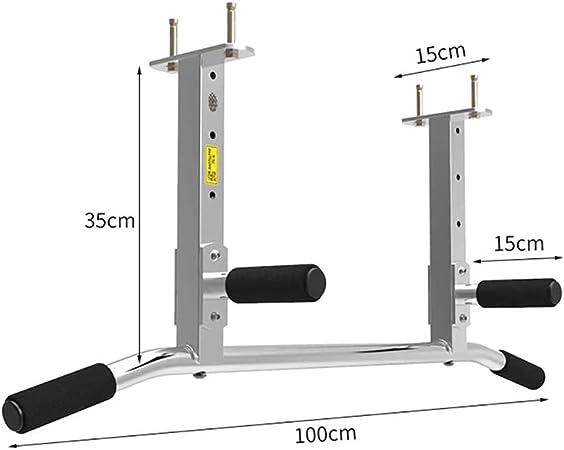 Barra Dominadas Techo Multifuncional Pull Up Bar Portatil con Empuñaduras Antideslizantes Carga Máxima 300kg