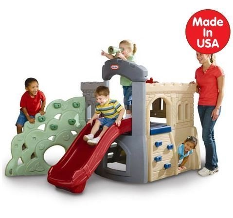 SALE! Playground Freestanding Slides - Freestanding Climber for Children from Little Tikes by Little Tikes by Little Tikes