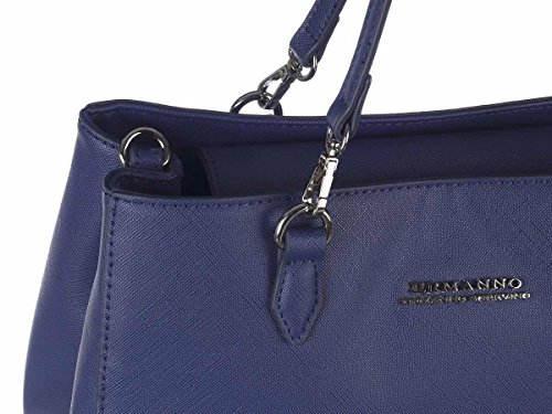ERMANNO SCERVINO Borsa Shopping Donna 12400437 ES160 Blu Primavera Estate 2018
