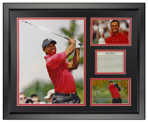 (Legends Never Die Tiger Woods Framed Photo Collage, 16