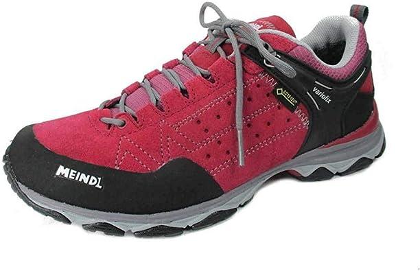 Meindl 3937 80, Stivali da Escursionismo Donna, Rosso (Rot